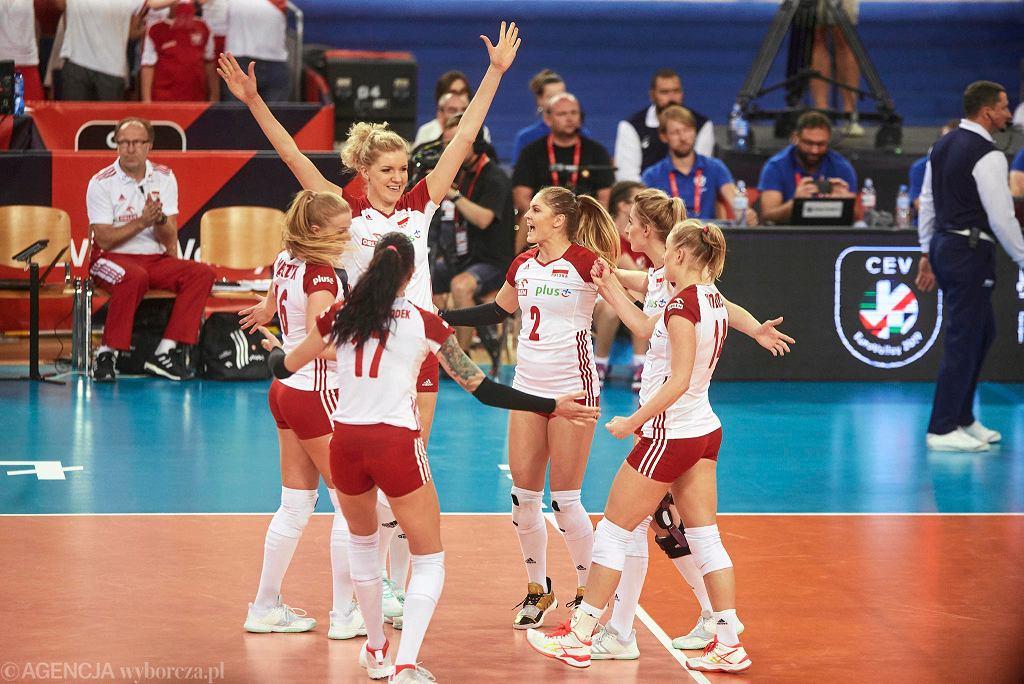 Mistrzostwa Europy siatkarek. Polska - Hiszpania