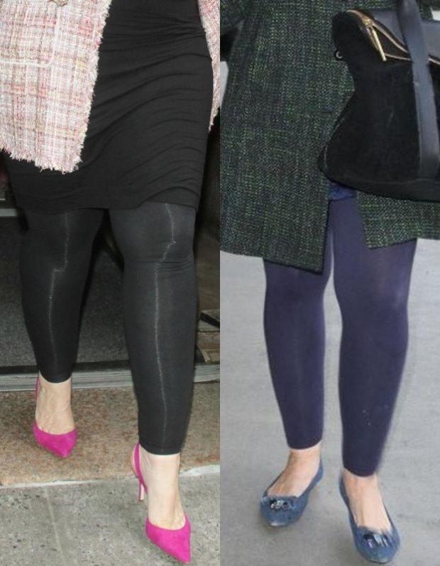 Kirstie Alley w kwietniu i w grudniu 2014 roku