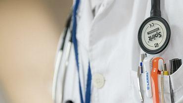 Lekarz (zdjęcie ilustracyjne)