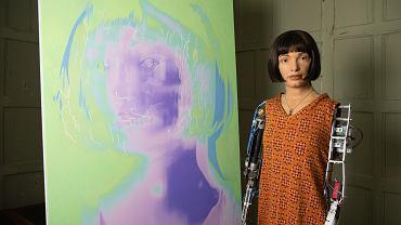 Ai-Da i jej autoportret