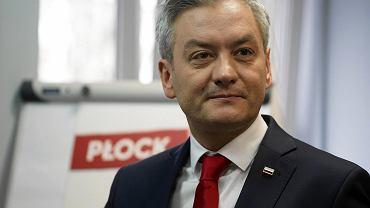 Wybory 2020. Robert Biedroń w Płocku