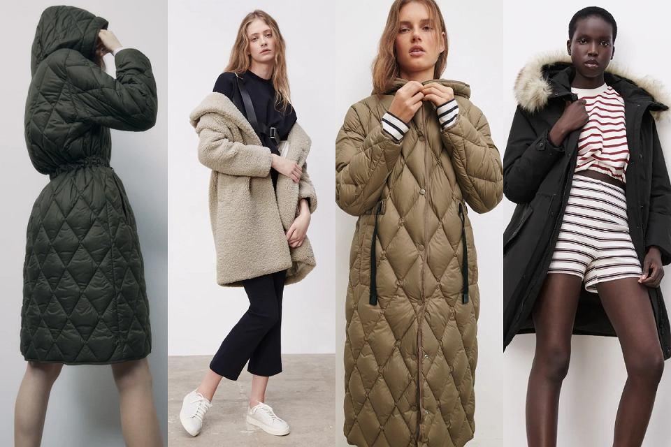 Zara płaszcze na zimę 2021