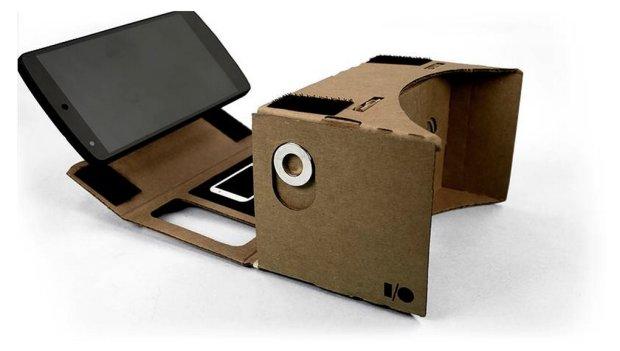 Google Cardboard - okulary do wirtualnych wycieczek