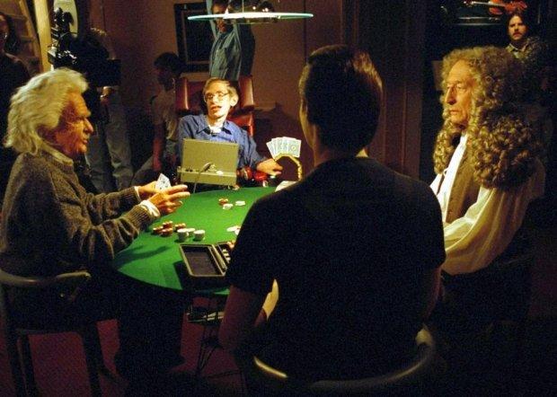 Stephen Hawking na planie serialu
