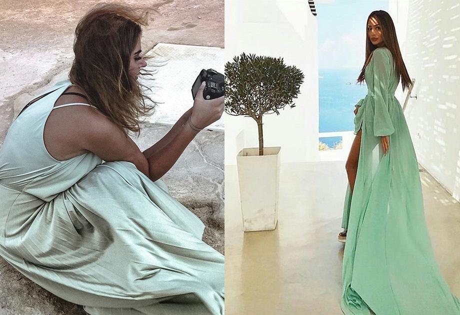 Miętowa sukienka na lato najpiękniejsze modele i modne