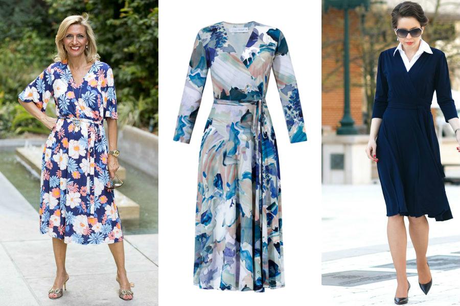 klasyczne sukienki dla dojrzałych