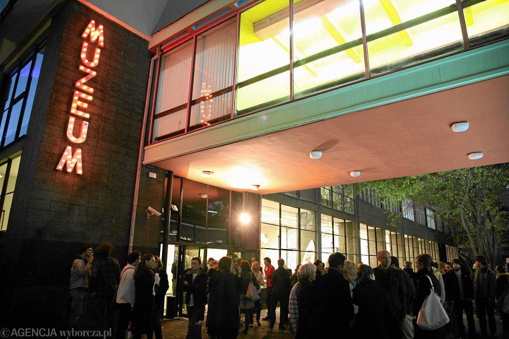 Siedziba na Pańskiej 3. Wystawa 'Warszawa w budowie', 2009 rok / MICHAŁ MUTOR