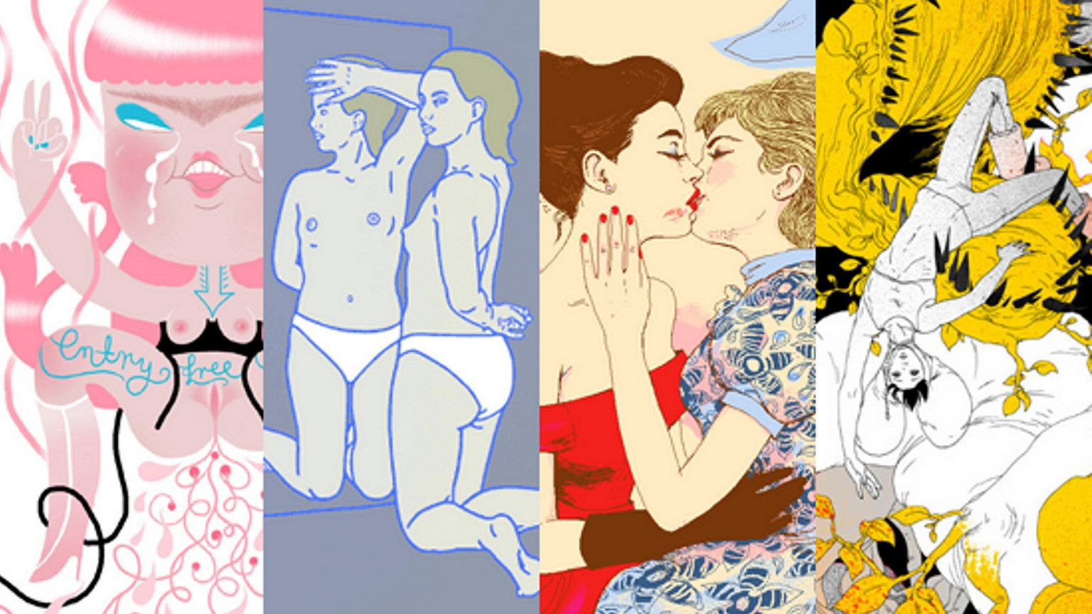 Komiksowe historie z seksu