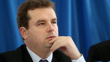 Jacek Wilk podczas debaty antysystemowych kandydatów na prezydenta RP w 2015 r.