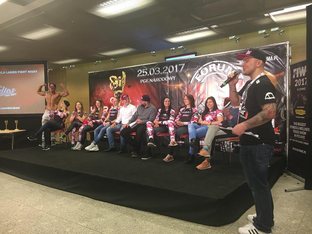 LFN Team podczas Forum MMA