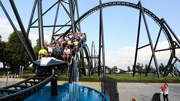 Park Rozrywki Energylandia. Rollercoaster Hyperion