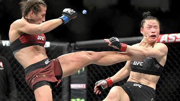 Najlepsza na świecie! Joanna Jędrzejczyk uhonorowana za przegraną walkę o tytuł
