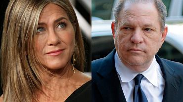 Jennifer Aniston i Harvey Weinstein