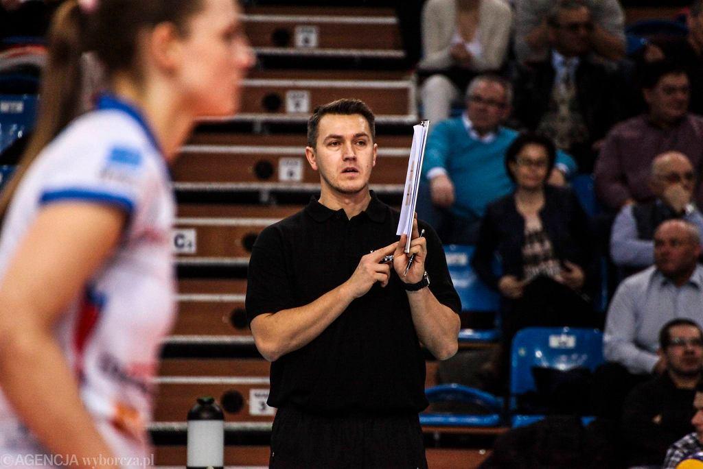 Mariusz Wiktorowicz, trener Developresu SkyRes Rzeszów