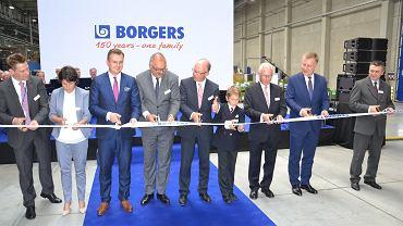 Otwarcie nowej fabryki Borgers