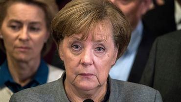 Kanclerz Angela Merkel ma kłopoty po tym, jak zerwano rozmowy koalicyjne.