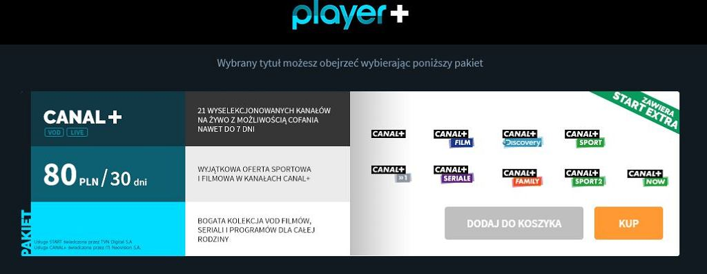 Oferta HBO w Player.pl