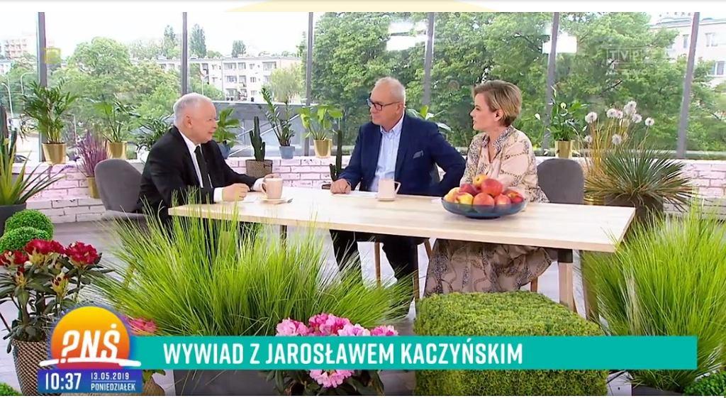 Jarosław Kaczyński W Pytaniu Na śniadanie Tvp Prowadzący