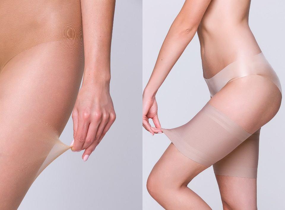 Rajstopy modelujące uda i łydki