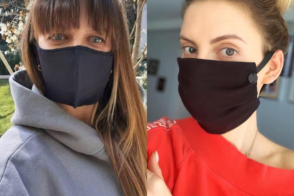 Dominika Grosicka i Anna Lewandowska