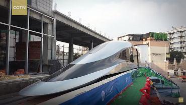 Prototyp szybkiego pociągu z Chin