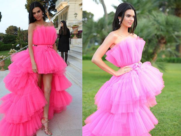 Kendal Jenner - suknię w wersji mini będzie można kupić teraz za 1299,99 zł