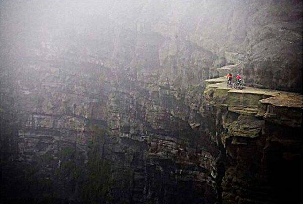 Biking Cliffs of Moher