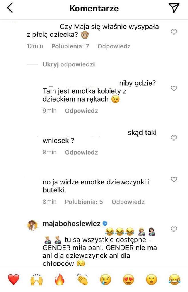 Komentarze na profilu Bohosiewicz