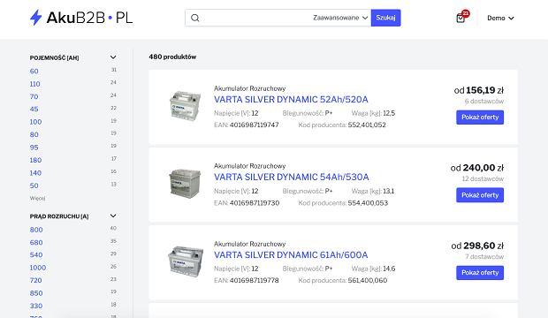 Zakupy na akub2b.pl i olejb2b.pl są wygodne jak na innych znanych platformach.