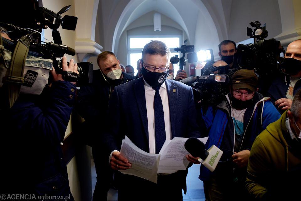 Sędzia Paweł Juszczyszyn w Sądzie Rejonowym w Olsztynie