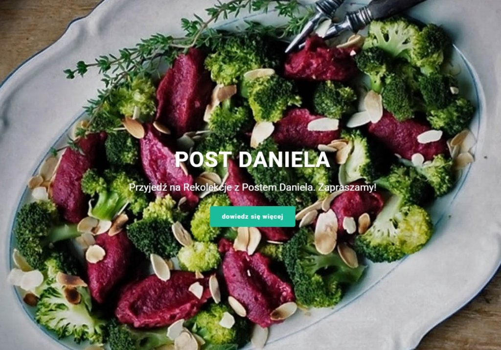 Rekolekcje z Postem Daniela