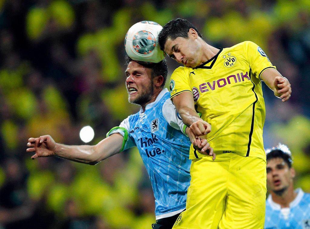 TSV 1860 Monachium - Borussia Dortmund w Pucharze Niemiec