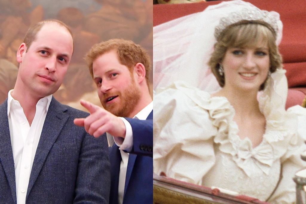 Książę William, książę Harry, księżna Diana