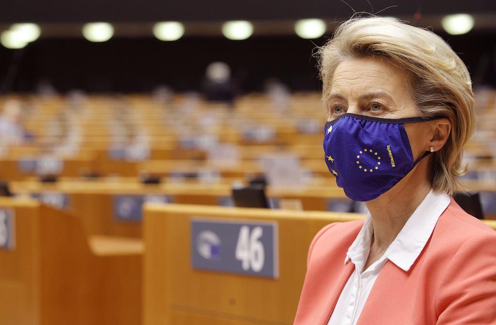 Ursula von der Leyen: Stało się tak, ponieważ jestem kobietą.