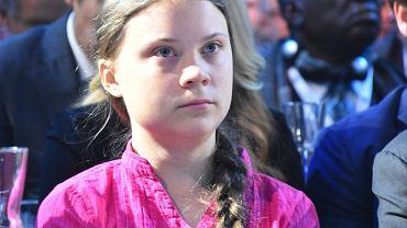 Greta Thunberg na szczycie klimatycznym w Austrii