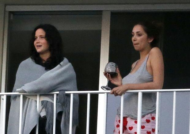 Jennifer Lawrence z przyjaciółką.