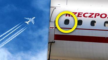 Okna w samolocie muszą być odsłonięte na czas startu i lądowania. Dlaczego?