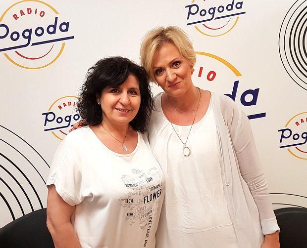Eleni i Anna Stachowska w Radiu Pogoda