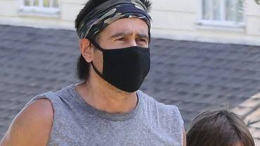 Colin Farrell z synem