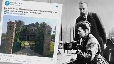 Dom, w którym mieszkali Pierre i Maria Curie