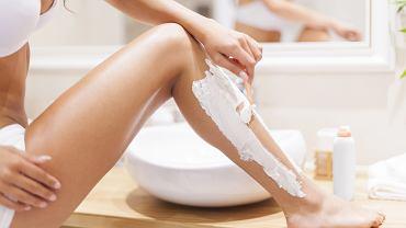 podrażnienie nóg po goleniu