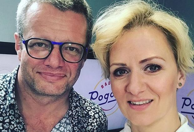 Marcin Meller i Anna Stachowska w Radiu Pogoda