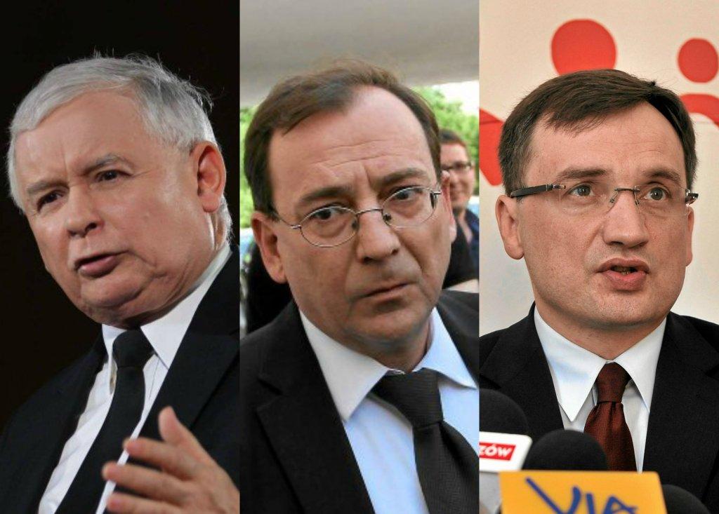 Kaczyński, Kamiński, Ziobro