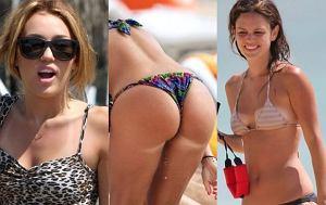 Rachel Bilson, Nicole Minetti, Miley Cyrus