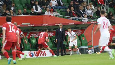 Spięcie Paulo Sousy z dziennikarzem po meczu z Rosją.