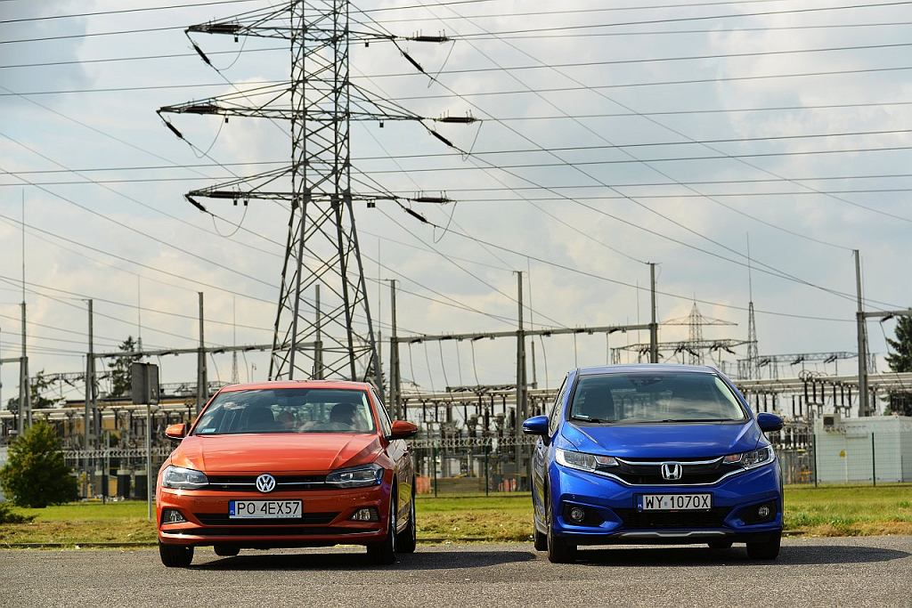 VW Polo 1.0 TSI vs. Honda Jazz 1.3