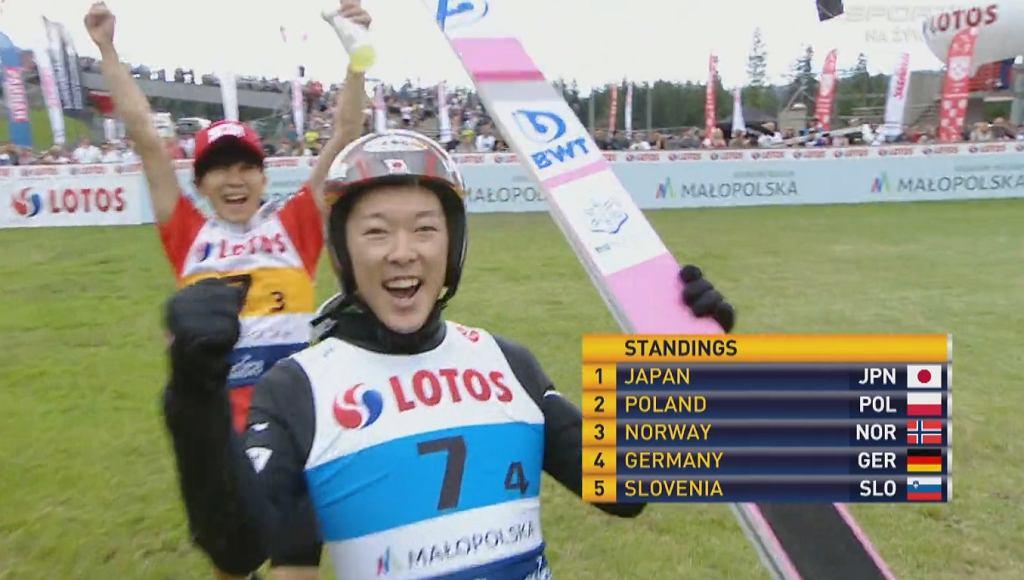 Japończycy wygrali konkurs w Zakopanem