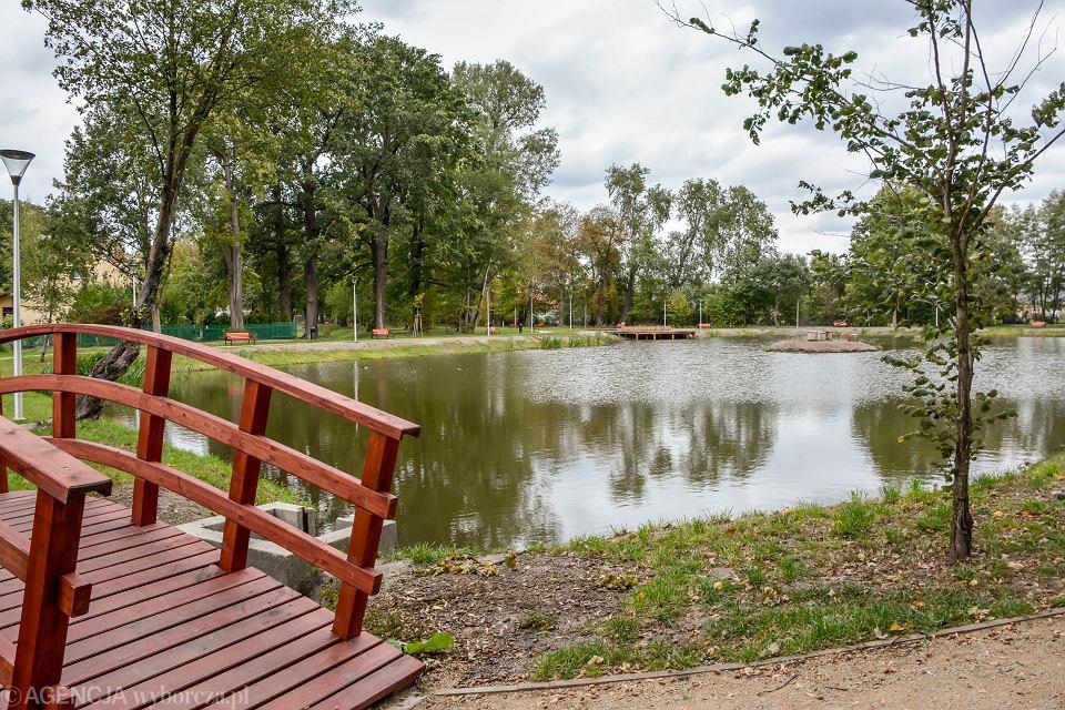 Wyremontowany park w Ochli