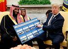Za co Trump tak kocha Saudów, że jest gotów ich rozgrzeszyć z bestialskiego mordu na dziennikarzu dysydencie