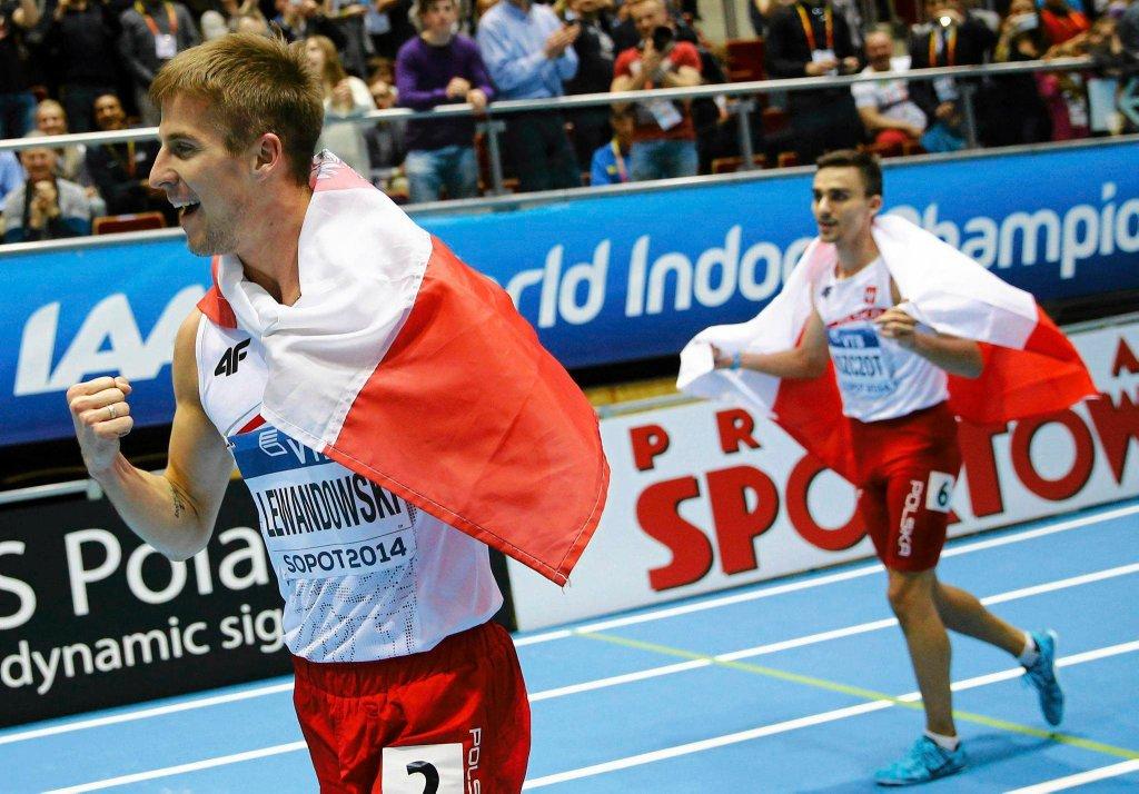 Marcin Lewandowski i Adam Kszczot